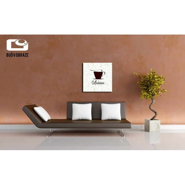 Obraz Coffee House, 40x40 cm