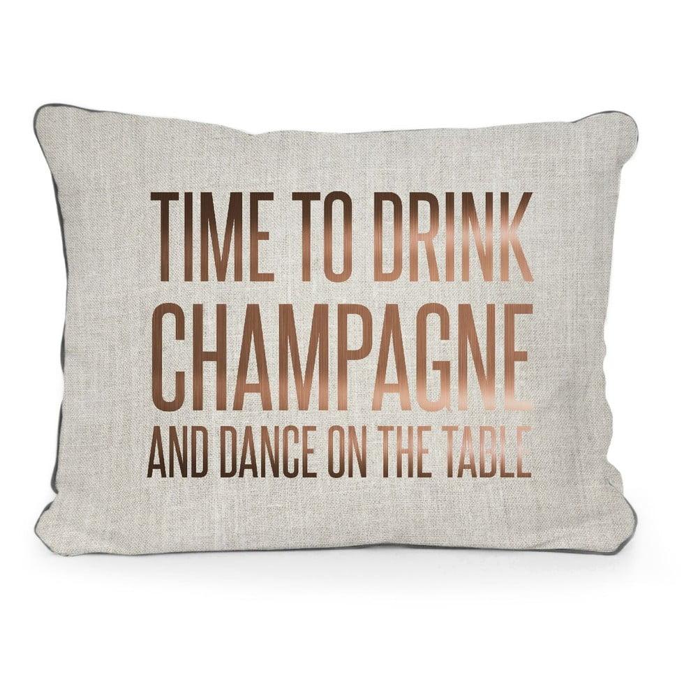 Polštář Surdic Champagne, 50 x 35 cm