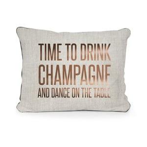 Polštář z mikrovlákna Surdic Champagne, 50x35 cm