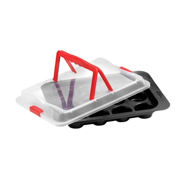 Forma na muffiny s násadou pro přenos Premier Housewares