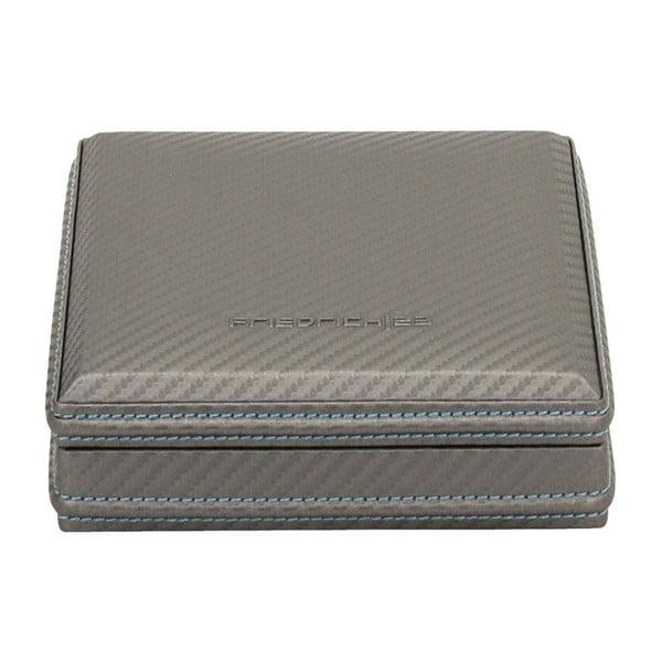 Box na manžetové knoflíčky Carbon Grey