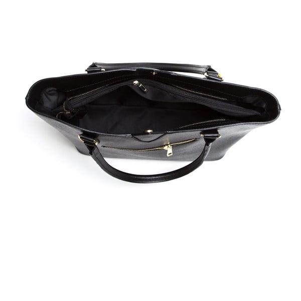Kožená kabelka Isabella Rhea 440 Nero