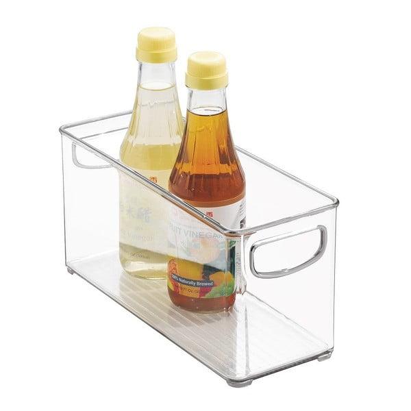 Organizator pentru bucătărie InterDesign Clarity, 25 x 10 cm