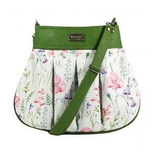 Zeleno-béžová kabelka Dara bags Love No.754