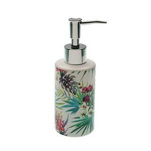 Dávkovač mýdla z keramiky s pumpičkou VERSA Tropical