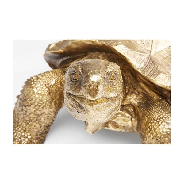 Statuetă decorativă Kare Design Turtle, auriu