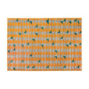 Oranžový koberec Cosmopolitan design Montreal, 160 x 230 cm