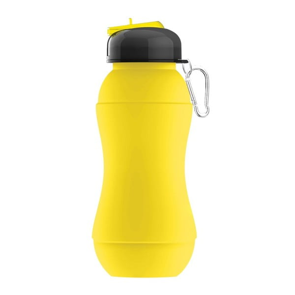 Revoluční sportovní lahev Sili-Squeeze, žlutá, 700 ml