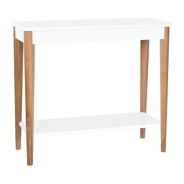 Ashme fehér konzolasztal, szélessége 85 cm - Ragaba