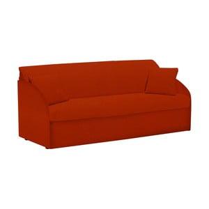 Canapea extensibilă cu 3 locuri 13Casa Amigos, roșu
