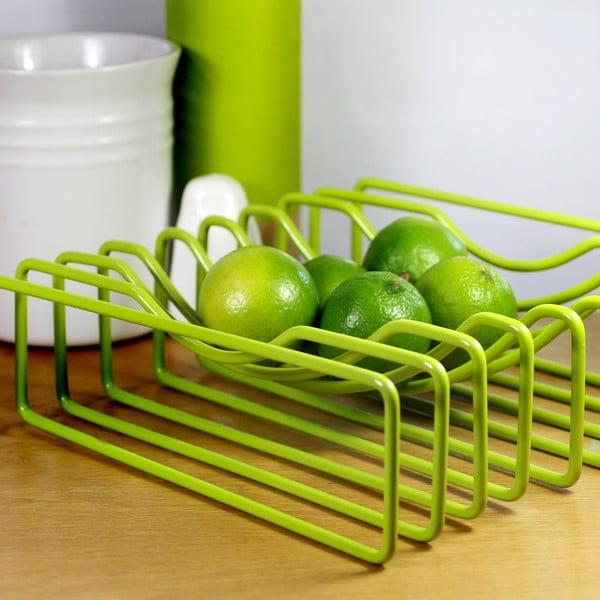 Mísa na ovoce Wire Fruit, zelená