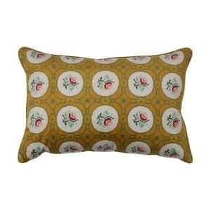 Okrově žlutý dekorativní polštář BePureHome Granny, 40x60cm
