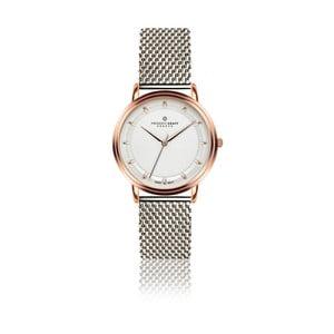 Dámské hodinky s páskem ve stříbrné barvě z nerezové oceli Frederic Graff Karina