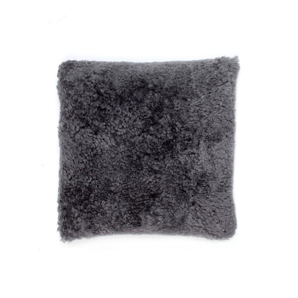 Vlněný polštář z ovčí kožešiny Auskin Argyll, 35 x 35 cm