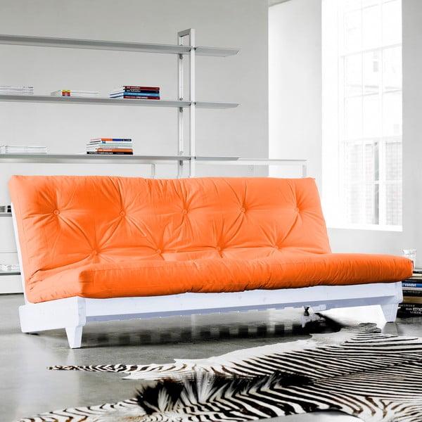 Rozkládací pohovka Karup Fresh White/Orange