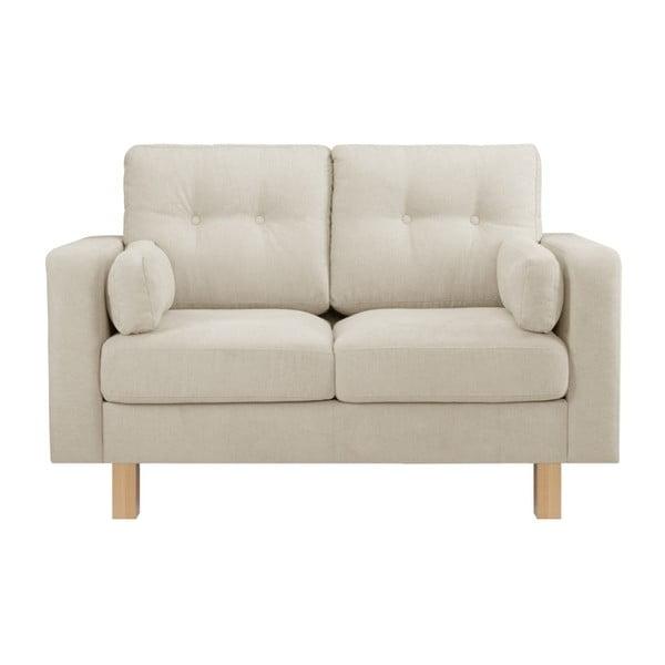 Canapea pentru 2 persoane Stella Cadente Maison Lagoa, crem