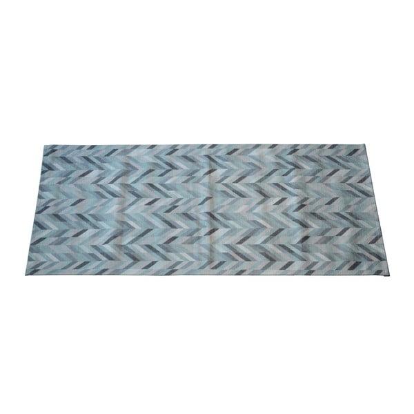 Covor Floorita Leather Aqua, 60 x 115 cm