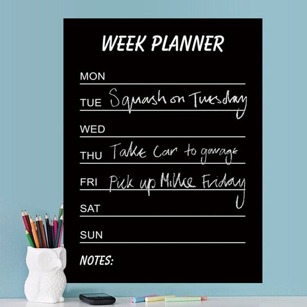 Dekorativní samolepka Calendario Week
