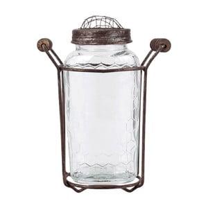Skleněná váza Herink No2