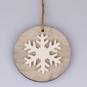 Závěsná vánoční dekorace ve tvaru vločky Dakls Ferdinand