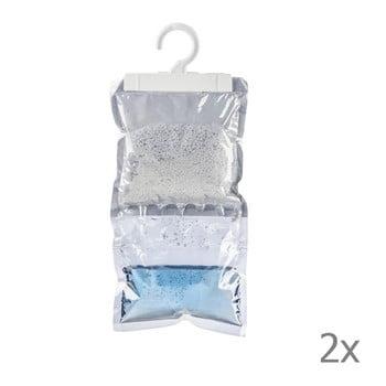 Set 2 absorbante umezeală de agățat Wenko Damp, 250 g imagine