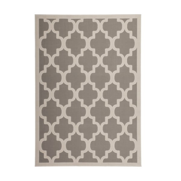 Stříbrný koberec Kayoom Maroc, 120x170cm
