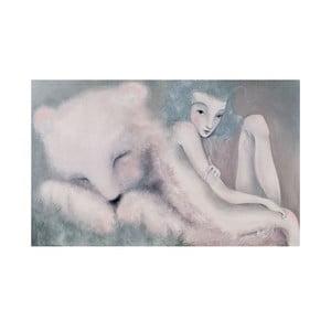 Autorský plakát od Lény Brauner Sen o medvědovi, 60x90cm