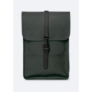 Zelený batoh s vysokou voděodolností Rains Backpack Mini