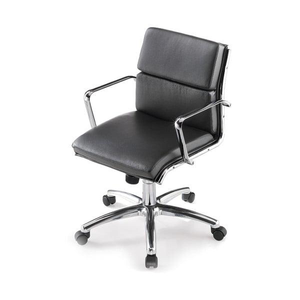Kancelářská židle s kolečky Chrono Zago, černá