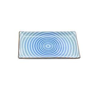 Porcelánový talíř Blue Stripe, 21.6 cm