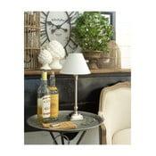 Stolní lampa se základnou z mangového dřeva Orchidea Milano Chrome,výška40cm
