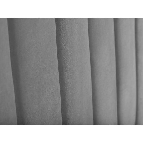 Světle šedé čelo postele Cosmopolitan Design Los Angeles, šířka 140cm
