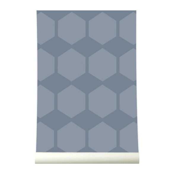 Tapeta Hexagrow Grey/Blue
