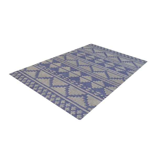 Vlněný koberec Kilim No. 710, 155x240 cm