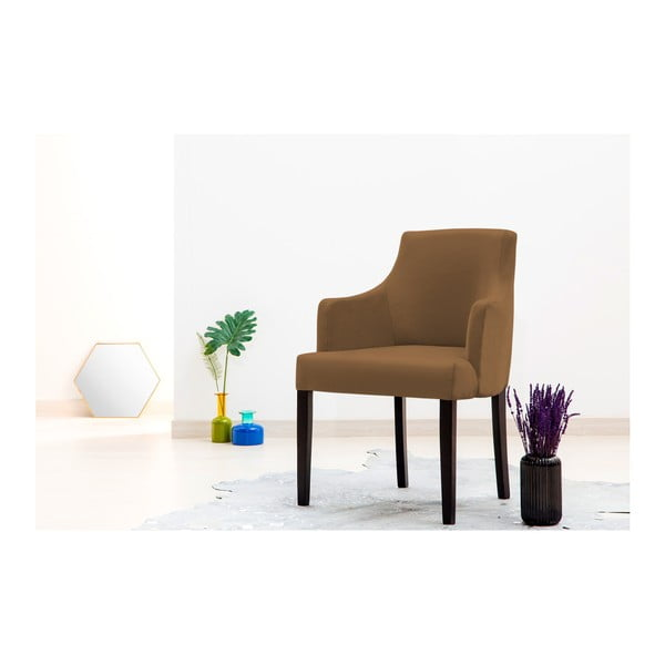 Sada 2 hnědých židlí Vivonita Reese