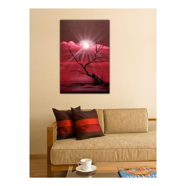 Obraz Růžový svět, 60x40 cm