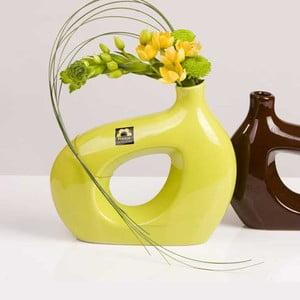 Váza Marna 21 cm, zelená