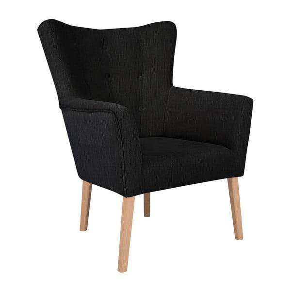 Flamenco fekete fotel - Kooko Home