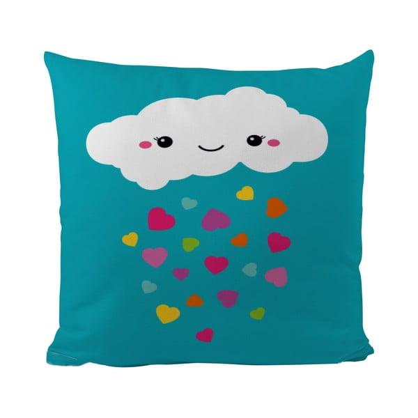 Polštář Love Raining, 50x50 cm