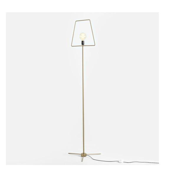 Firkant aranyszínű állólámpa - Custom Form