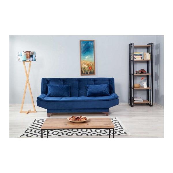 Canapea extensibilă Ersi, albastru