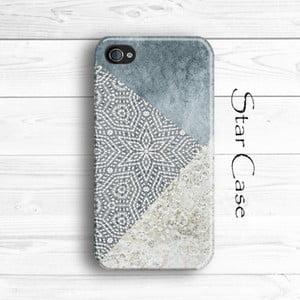 Obal na iPhone 4/4S Wood Grey Trio