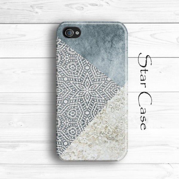 Obal na iPhone 5/5S Wood Grey Trio