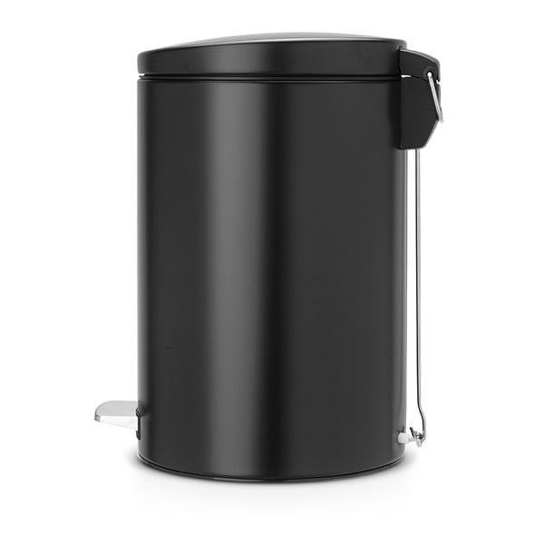 Pedálový odpadkový koš Pedal Bin, 20 l, černý