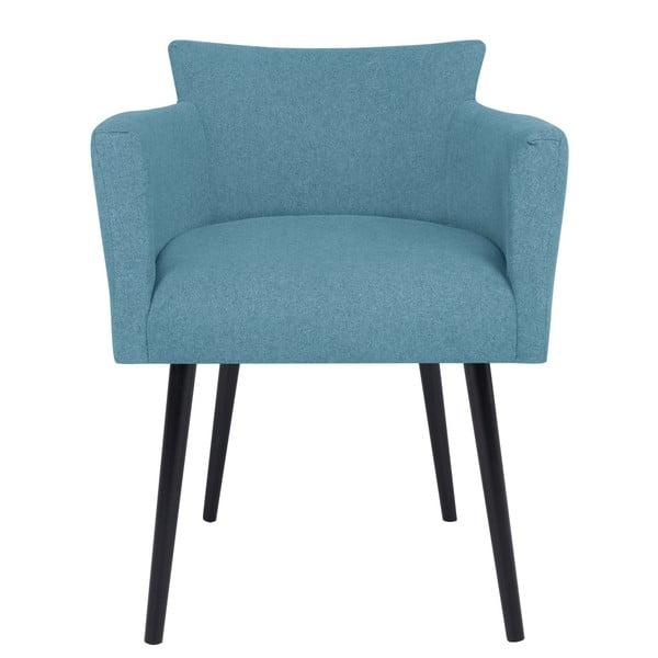 Světle modrá židle s područkami Windsor & Co Sofas Gemini