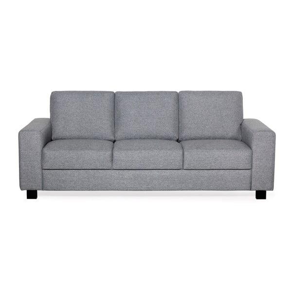 Aaron szürke háromszemélyes kanapé - Softnord