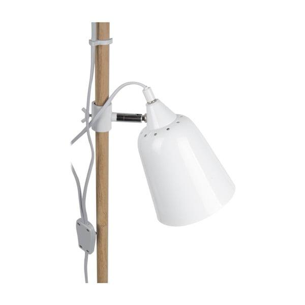 Bílá volně stojící lampa Leitmotiv Jungle