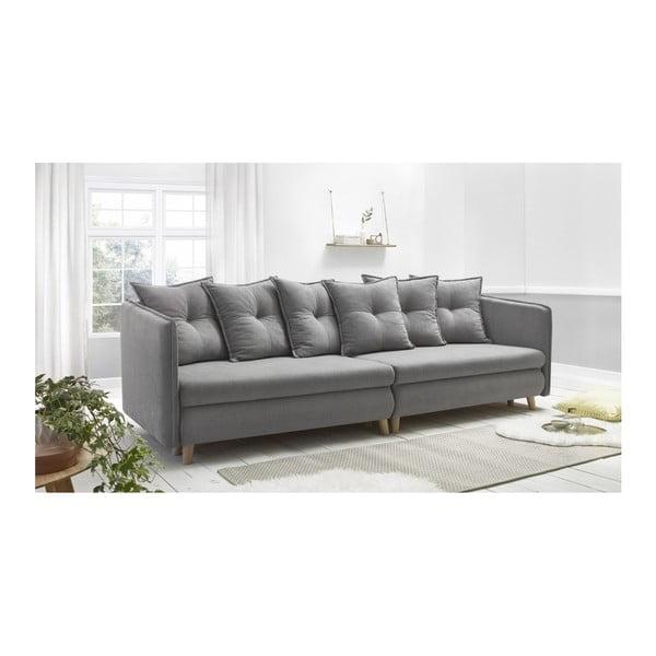 Canapea cu 4 locuri Bobochic Paris Riga, gri