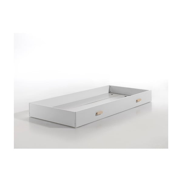 Bílý úložný box pod postel Vipack Cocoon