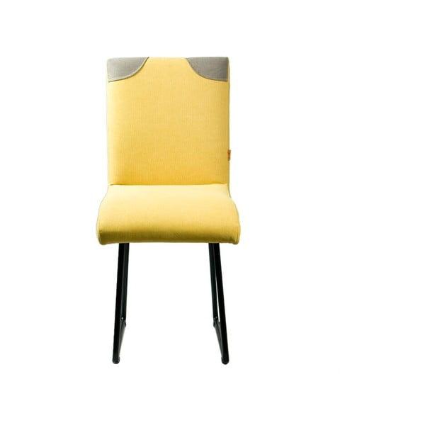 Židle Gie El, žlutá